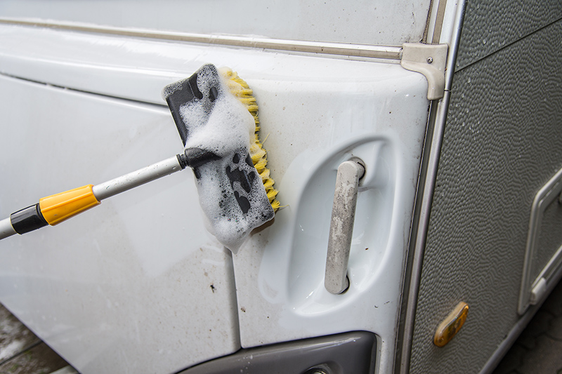 Caravan Cleaning Services in Cheltenham Gloucestershire